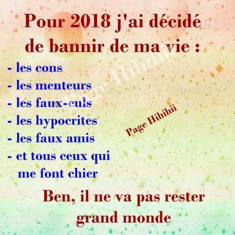 bonne résolution nouvelle année